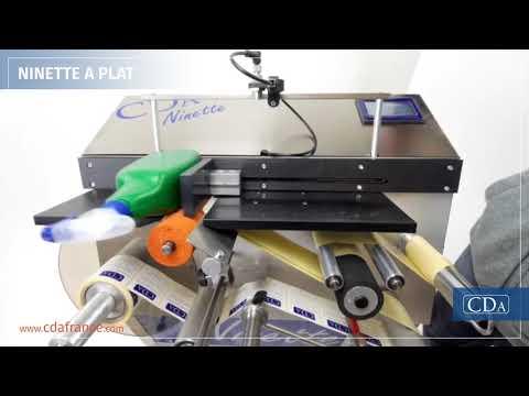 Ninette à Plat - étiqueteuse semi-automatique