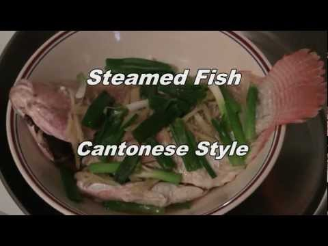 fish cantonese style traditional chinese cooking steamed lapu lapu