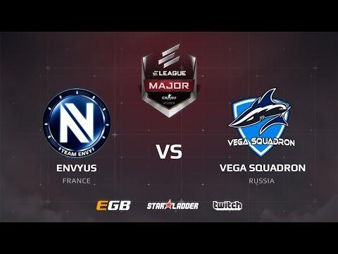 EnVyUs vs Vega Squadron, dust2, ELEAGUE Major Main Qualifier