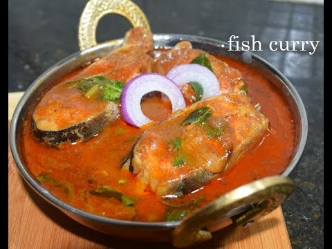 Easy and Tasty Fish curry/Meen saaru/Fish curry in kannada/Andhra style fish curry