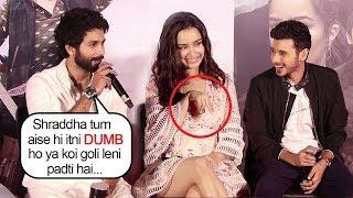 Video Shahid Kapoor Makes FUN Of Shraddha Kapoor's DUMB Moment At Batti Gul Meter Chalu Trailer Launch MP3, 3GP, MP4, WEBM, AVI, FLV Agustus 2018