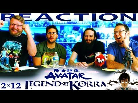 "Legend of Korra 2x12 REACTION!! ""Harmonic Convergence"""