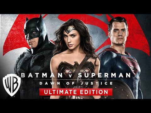 Batman v Superman: Dawn of Justice (Blu-Ray Trailer)