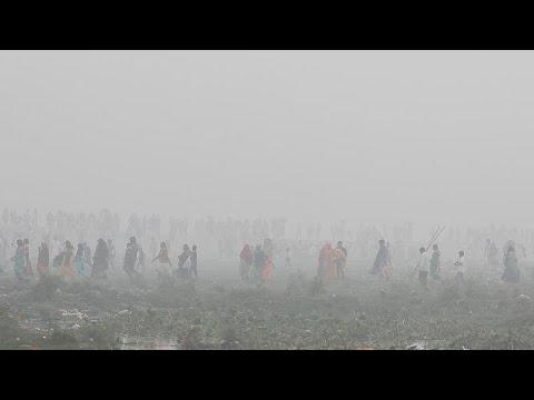 Ρεκόρ ατμοσφαιρικής ρύπανσης στο Νέο Δελχί