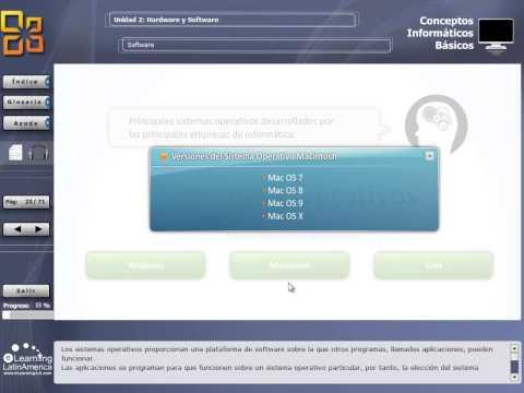 Curso online de Conceptos Informáticos Básicos: Hardware y Software