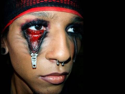Halloween Zipper Eye Tutorial