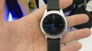 Samsung Gear S3 Classic hands on review