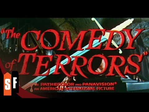 The Comedy Of Terrors - Vincent Price (1963) - Official Trailer HD