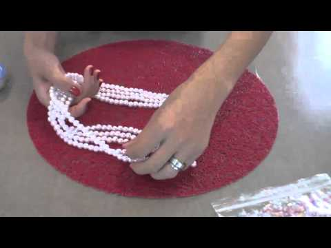 DIY  Collar con perlas