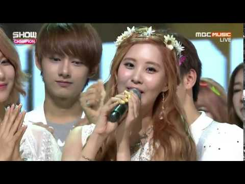 Girls Generation ( SNSD ) - PARTY  Win No 1 Show Champion 150715