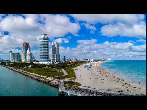 Miami Drone 4K (with Timelapse/Hyperlapse)