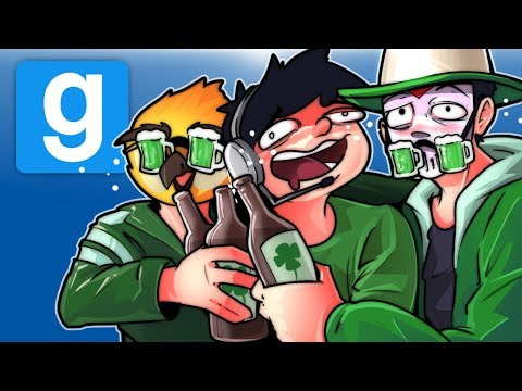 Gmod Ep. 73 Hide And Seek! - St. Patrick's Day Drunk! (Garry's Mod Funny Moments) (видео)