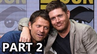 More Celebrity News ►► http://bit.ly/SubClevverNewsThe cast of Supernatural discuss what to expect from season 13 and more at Comic Con 2017.For More Clevver Visit:There are 2 types of people: those who follow us on Facebook and those who are missing out http://facebook.com/clevverKeep up with us on Instagram: http://instagr.am/ClevverFollow us on Twitter: http://twitter.com/ClevverTVWebsite: http://www.clevver.com Add us to your circles on Google+: http://google.com/+ClevverNewsTweet Me: http://www.twitter.com/
