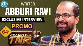 Frankly With TNR #64 - Exclusive Interview Promo || Talking Movies With iDream