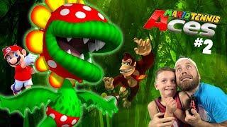 Video Piranha Undies!? Mario Tennis Aces Adventure Gameplay for the Nintendo Switch Part 2 MP3, 3GP, MP4, WEBM, AVI, FLV Juli 2018