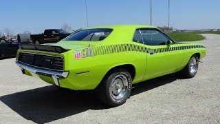 Nonton 1970 Plymouth 'Cuda AAR Cuda Barracuda All American Racers in Green My Car Story with Lou Costabile Film Subtitle Indonesia Streaming Movie Download