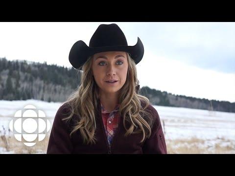 Heartland's Amber Marshall Swims with Horses | Heartland | CBC