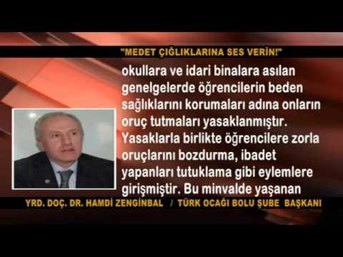 """""""MEDET ÇIĞLIKLARINA SES VERİN!"""""""