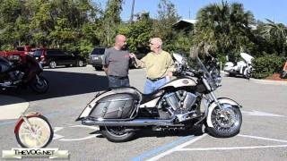 2. 2012 Victory Cross Roads Motorcycle Rider Review