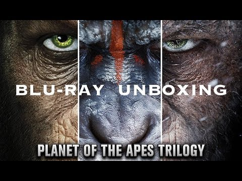 Planet Of The Apes Trilogy Blu-ray Unboxing!