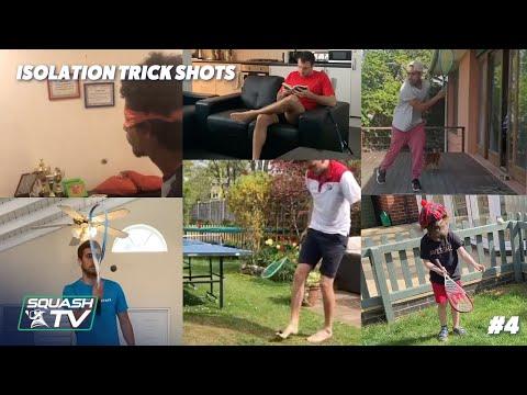 Squash Got Skills - Isolation Trick Shot Compilation 4 #SquashedInside