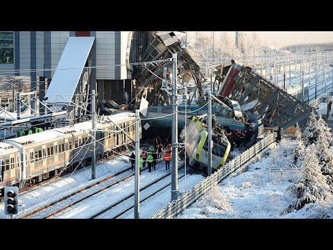 Τουρκία: Σιδηροδρομικό δυστύχημα στην Τουρκία – Τουλάχιστον 9 νεκροί…