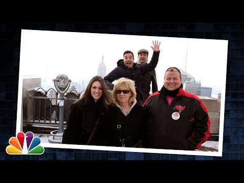 Tonight - Jimmy & Jon Hamm surprise people at the Top of the Rock by photobombing their pictures. Subscribe NOW to The Tonight Show Starring Jimmy Fallon: http://bit.l...