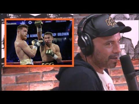 Joe Rogan Reacts to the Canelo vs. GGG Decision (видео)