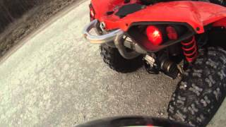 10. 2016 Can am renegade 570 with youshimura exhaust