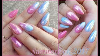 SOMMERLOOK mit OMBRÉNAILS | #UnicornPigmente | Danana - YouTube