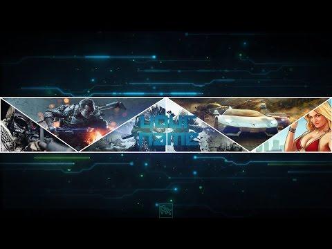 online gaming intro erstellen