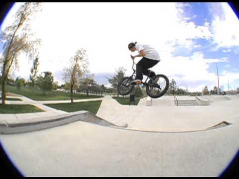 OSS BMX: Salt Lake Skatepark Video.