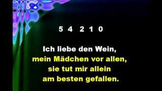 DIE GEDANKEN SIND FREI - Thoughts Are Free - Graphics Enhanced Karaoke In German