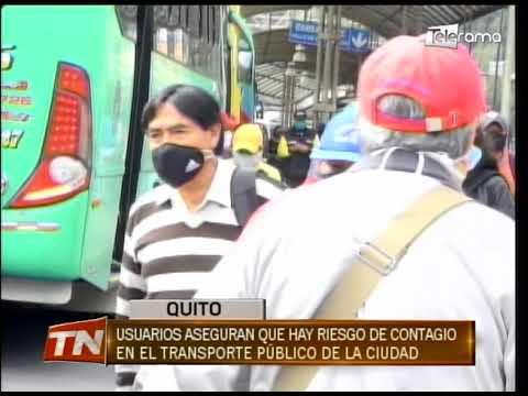 Usuarios aseguran que hay riesgo de contagio en el transporte público de la ciudad