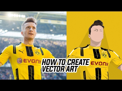 How To Create Vector Images In 4 Steps | Photoshop Tutorial |