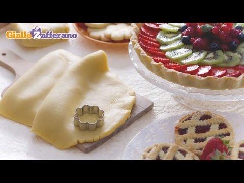 Sweet shortcrust pastry ( pasta frolla ) recipe