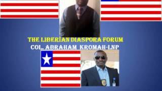 LIBERIAN DIASPORA FORUM with Police Deputy Director, Abraham Kromah