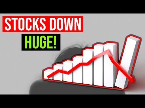The Stock Market Is Crashing ❓ Tech Stocks Down Huge 📉