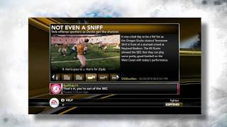 First Look at NCAA Football 11 Online Dynasty