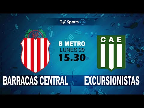 Primera B Metropolitana: Barracas Central Vs. Excursionistas l #PrimeraBenTyC