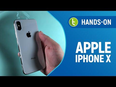 Apple iPhone X: unboxing e primeiras impressões  Vídeo do TudoCelular.com