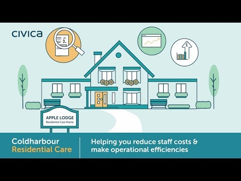 Reducing the financial pressures of operating care homes with Coldharbour Residential Care.