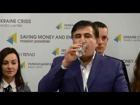 Политический эпатаж с прицелом на будущее. Пресс-конференция Саакашвили