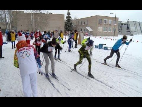 На базе областного спортинтерната «Спарта» прошла лыжная эстафета