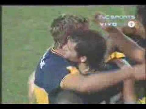 Boca Juniors vs Independiente: El Golazo de media cancha de Martin Palermo