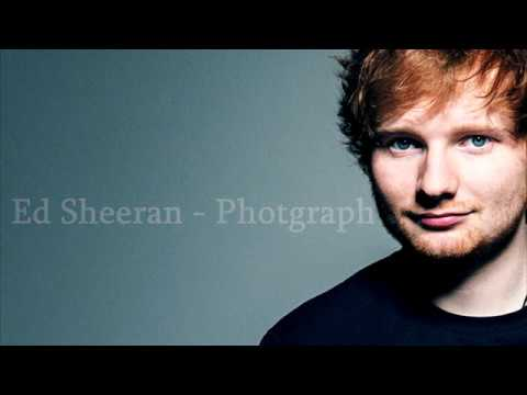 Ed Sheeran - Photograph (Lyrics) (видео)
