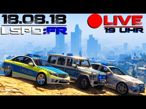GTA 5 LSPD:FR Livestream - Daniel Gaming - 18.08.2018