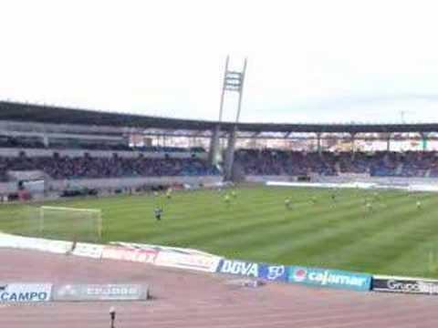 Partido del UC Almeria en el estadio de los Juegos Mediterráneos
