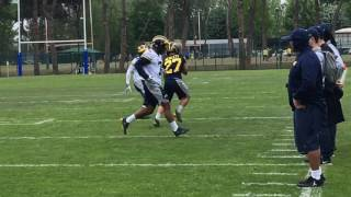 Watch Wilton Speight and Brandon Peters practice in Italy Video