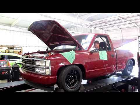 Chevy experiences trouble on the dyno